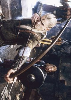 Leggy in Moria Legolas And Thranduil, Fili And Kili, Aragorn, Gandalf, Lotr Characters, Orlando Bloom Legolas, O Hobbit, Jrr Tolkien, Harry Potter