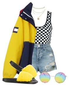 """Untitled #1427"" by wavvy-k ❤ liked on Polyvore featuring Alexander Wang, 3x1 and Givenchy"