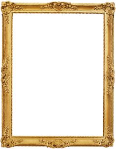 gold frame png google search