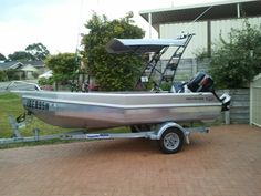 My boat 4.6 m stabicraft (NZ boat)  unsinkable, stable and soft riding , just love it!