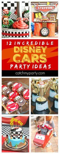 12 Incredible Disney Cars Party Ideas | CatchMyPar…