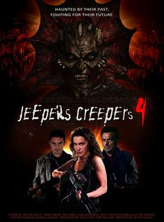 Jeepers Creepers New to me.hope it makes sense after Newest Horror Movies, Classic Horror Movies, Action Movie Poster, Movie Poster Art, Zombie Movies, Scary Movies, Terror Movies, Horror Photos, Funny Horror