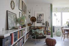 Bookshelves, Bookcase, Home Interior, Lund, Sweet Home, Gallery Wall, House Design, Inspiration, Living Room