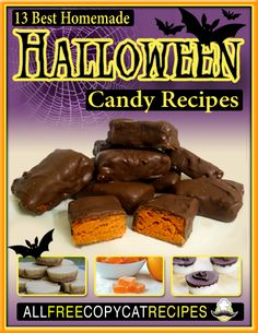 13 Best Homemade Halloween Candy Recipes---Free Printable Recipe Collection