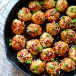 Kung Pao Chicken Meatballs - Fit Foodie Finds