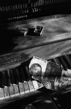 Piano Still-Life Vermont 1974 Photo: Harold Feinstein