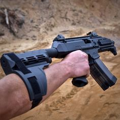 everydaycivilian:  CZ Scorpion EVO 3 S1 in action at the range.   CZ stock is on its way and will e SBR'd shortly. Cannot wait! Stay tuned for pictures!