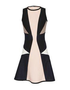 Pleated Jersey Flare Dress #JonathanSimkhai
