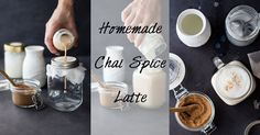 What better way to get in a good mood than by drinking this uuuuuh-mazing healthy Homemade Chai Spice Latte *little hearts in my eyes*