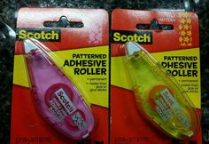 3M Scotch Patterned Permanent Adhesive Roller---------8.7 yards #3M