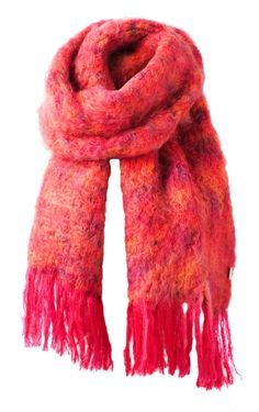 BALMUIR Kid Mohair Scarf, Sunset Red - Balmuir - Exclusive Collection Exclusive Collection, Scarves, Sunset, Winter, Kids, Fashion Design, Style, Scarfs, Winter Time