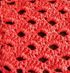 Arcade Stitch free crochet stitch