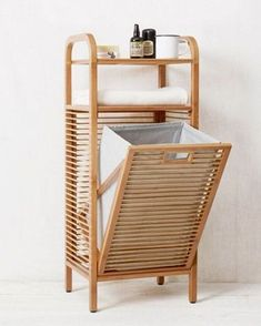 Laundry hamper ideas laundry hamper ideas for small spaces fanciful om interior bamboo basket home design cabinet homemade laundry hamper ideas Decor, Furniture, Home Accessories, Home Goods, Interior, Laundry Hamper, Home Decor, Space Saving Furniture, Furniture Design