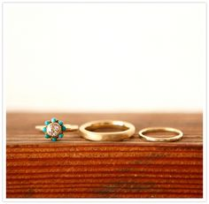 i really want my wedding ring to be something cool and different like this :)