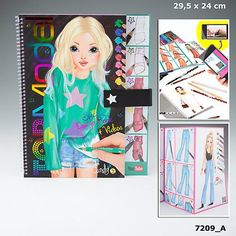 Top Model Special Design Book and Videos Cool Books, New Books, Cute Cartoon Wallpapers, How To Take Photos, Book Design, Art Sketches, Creative, Tops, Stuff To Buy