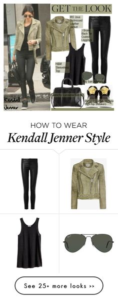 """Get the Look: Kendall Jenner"" by helenevlacho on Polyvore"
