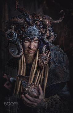 Kraken King, costume portrait Dark Portrait, Kraken, Portrait Photography, Fine Art, King Costume, Visual Arts