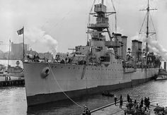 USS Marblehead (CL-12) was an Omaha class light cruiser of the United States Navy. She was the third Navy ship named for the town of Marblehead, Massachusetts. Marblehead was laid down on 4 August 1920 by William Cramp and Sons, Philadelphia, Pennsylvania; launched on 9 October 1923.