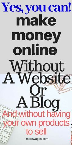 Selling other people`s products online without a website or having your own products to sell.Join affiliate programs that accept affiliates without a website. Earn Money From Home, Earn Money Online, Make Money Blogging, How To Make Money, Things To Sell Online, Money Fast, Marketing Program, Affiliate Marketing, Online Marketing