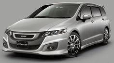 Honda Odyssey, JDM (japanese domestic version) figures...wish we could get them here and this one was mine! Looks amazing :)