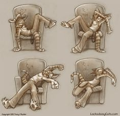 Trying to sleep in chairs