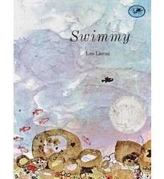 Swimmy, a small black fish, finds a way to protect a school of small red fish from their natural enemies.
