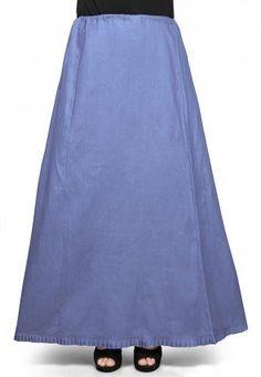 Cotton Petticoat in Blue