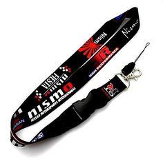 JDM Tein Samurai Racing Lanyard Cell Holders Neck Strap Key Chain 2 SIDED PRINT