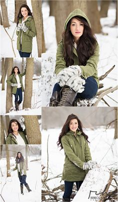 snowy senior pictures outdoors by rebecca houlihan photography Practical experience - Everyone attempting to make Senior Girl Poses, Girl Photo Poses, Senior Girls, Snow Senior Pictures, Senior Photos, Senior Portraits, Winter Photography, Senior Photography, Senior Picture Outfits