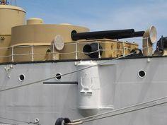 USS Olympia Forward Main Battery