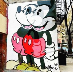 Mickey Mouse   #mickeymouse #mickey #mickey #art #streetart #NY #nyc #love #soho #lovemylife #freedom #lovemylife #tour #tourist #travel #travelphotography