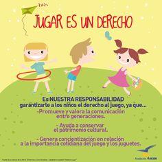 Es nuestra responsabilidad garantizarle a los niños al derecho al juego.