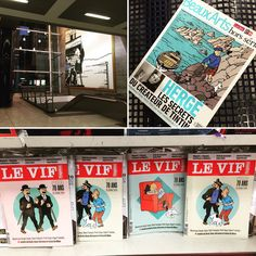 South Station new magazines about #Hergé and #Tintin
