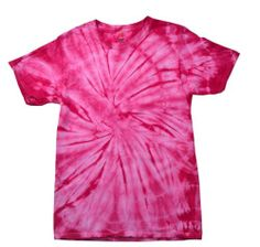 Pink Tie Dye T-Shirts Size Youth to Adult XL Cotton Check Description