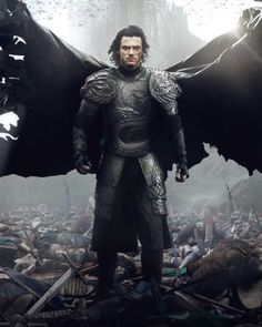 New Poster for DRACULA UNTOLD with Luke Evans.........& Dominic Cooper....I think yes!