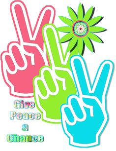 Peace Hand Sign Tee Shirt by dswygert on Etsy
