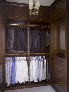 Men's closet by Phoebe Howard