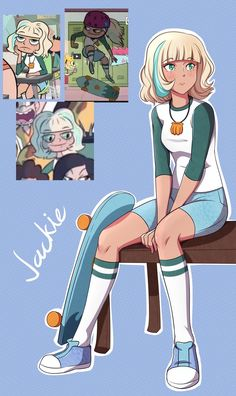 Star Vs. The Forces of Evil: Jackie by Mgx0 on DeviantArt