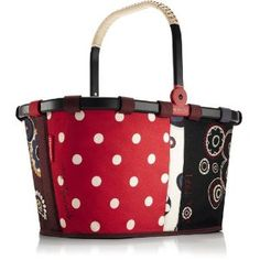 faa1a1078 Red Dots Reisenthel Anniversary Carry Bag Limited Edition Grocery Basket,  Design3000, Red Dots,
