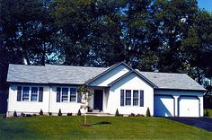 Custom Home Plans - Custom Homes in Pennsylvania and Southern NY Custom Home Builders, Custom Homes, Building Design, Building A House, Double Window, Ranch House Plans, Spacious Living Room, Model Homes, New Homes