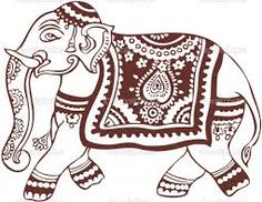 INDIAN ELEPHANT SIDE VIEW - Google Search
