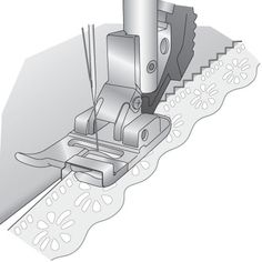 Pfaff - Narrow Edge Foot for IDT™ System