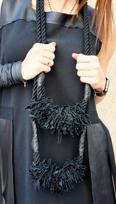 NEUE Kollektion von 2016 schwarz extravagante Seil mit von Aakasha
