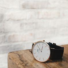 Minimalistic elegance, available at www.danielwellington.com! #danielwellington #wotd #watch