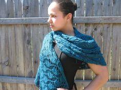 Hand crocheted flower motif shawl.  A.K.A  by reneeoriginals1, $65.00