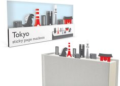 Create miniature scenes and landscapes whilst marking the pages of your books, catalogs and documents.