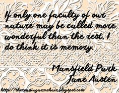 Quote from Mansfield Park by Jane Austen