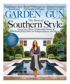 Garden and Gun Magazine 62016 Cover TruMen Traders