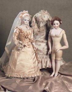Lady Dolls of the 19th Century: 161 Statuette-Poupee by Radiguet & Cordonnier