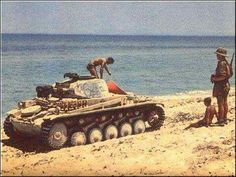 Don`t forget your Panzer on the beach